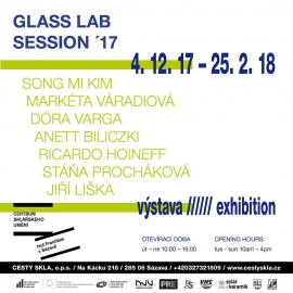 GLASS LAB SESSION´17 - výstava